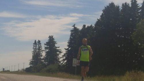 Jean-Christophe Renaud running