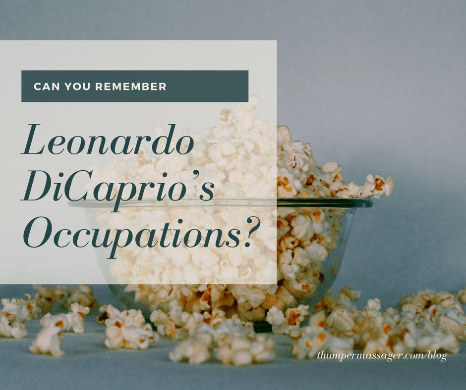 Leonardo DiCaprio's Occupations