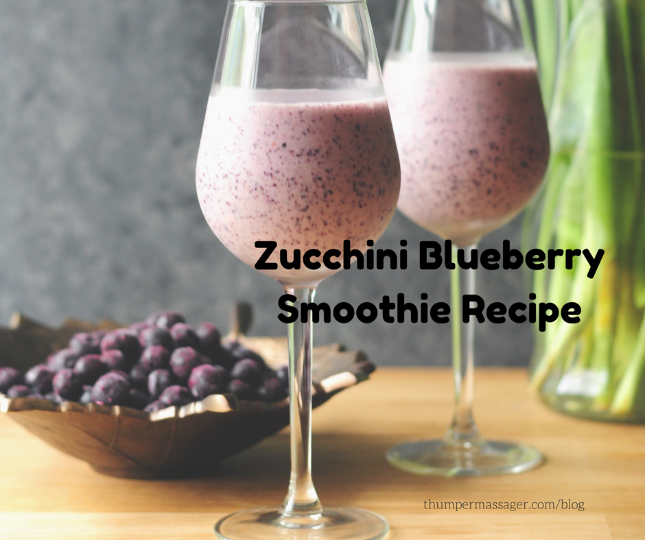 Zucchini Blueberry Smoothie Recipe
