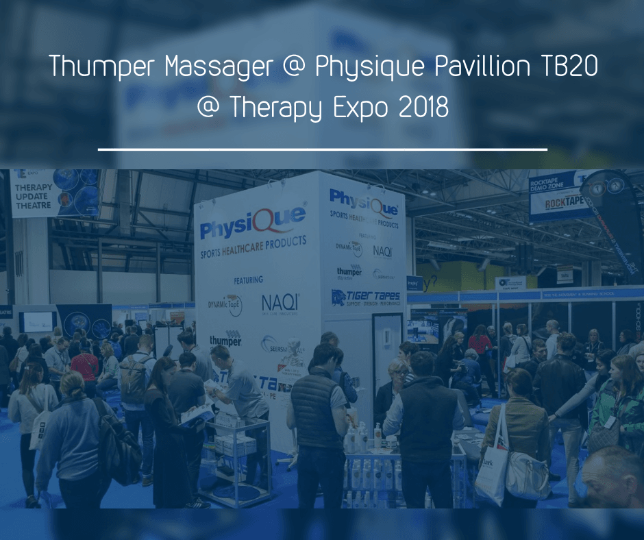 Thumper Massager @ Physique Pavillion TB20 @ Therapy Expo 2018