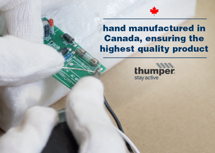 Thumper Massager Made in Canada About Us
